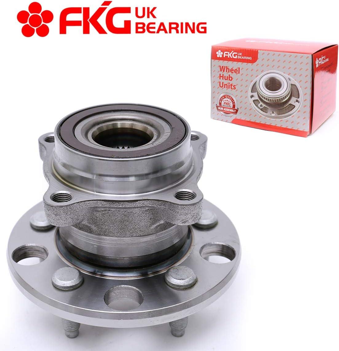 FKG 512337 Rear Wheel Bearing Hub Assembly fit for 06-13 Lexus IS350 IS250 08-11 Lexus GS460 07-11 Lexus GS350 06-07 Lexus GS430 5 Lugs 08-13 Lexus IS F