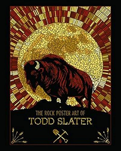 Red Poster Book (The Rock Poster Art of Todd Slater)