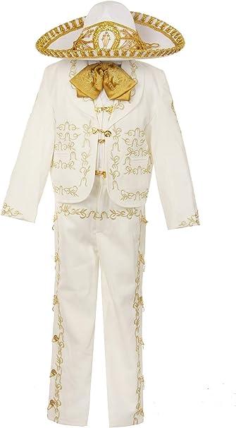 Amazon.com: Rain Kids Boys Ivory Rooster Bordado Elegante 6 ...