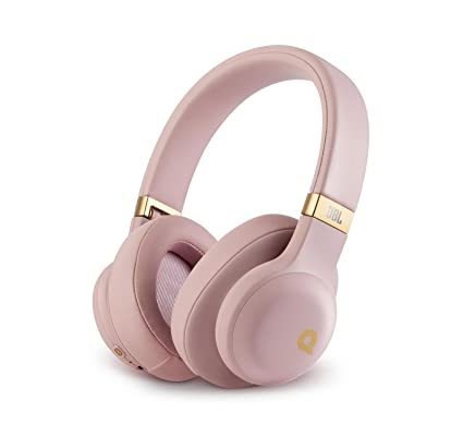 7079dd7189b Amazon.com: JBL E55BT Quincy Edition Wireless Over-Ear Headphones with  One-Button Remote and Mic (Rose Gold): Electronics