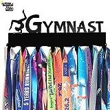 Visual Elite | Gymnast | Medal Display Hanger Hand-Forged Black Metal Hanger Design For Gymastics / Gymnastic Medals | The Medal Hangers Collection
