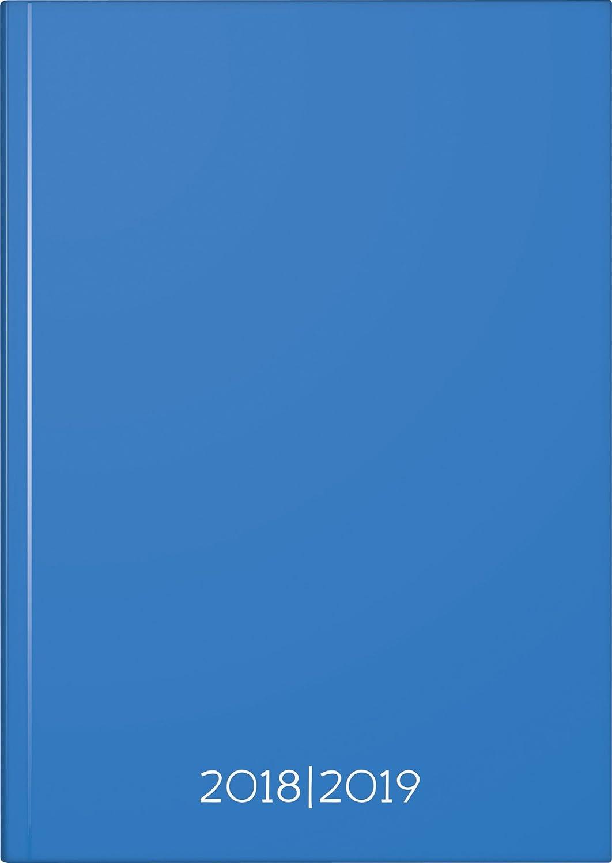 Fontana 1072972119Calendario Degli Studenti A51S/1T Dimensione: A5, 14, 8X 21Cm Kalendarium: Agosto 2018A Luglio 2019, 1Lato = 1Giorno, 352Pagine Plain Blue