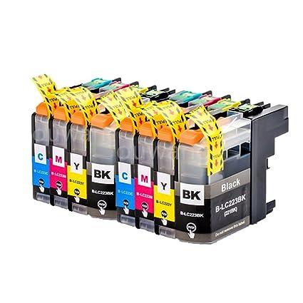 Karl Aiken 8 x Cartuchos de impresora compatible para Brother ...
