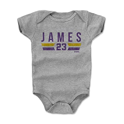 d9d71c17c66 Amazon.com  500 LEVEL LeBron James Baby Clothes   Onesie (3-6