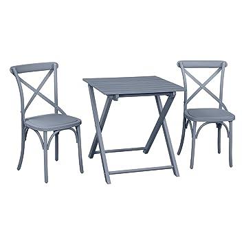 Plástico reciclado al aire libre muebles de jardín juego de ...