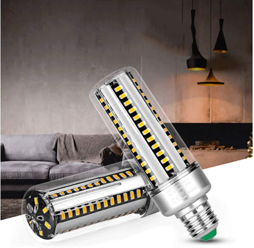 LED E27 85V-265V Led Corn Bulb E27 Led Energy Saving Light Bulb 96leds for Chandelier Lights Commercial Lighting,Warm white