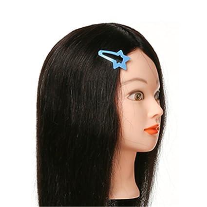 Remeehi estilo de corte de maniquí de la cabeza pelo humano de Formación Dye práctica formación
