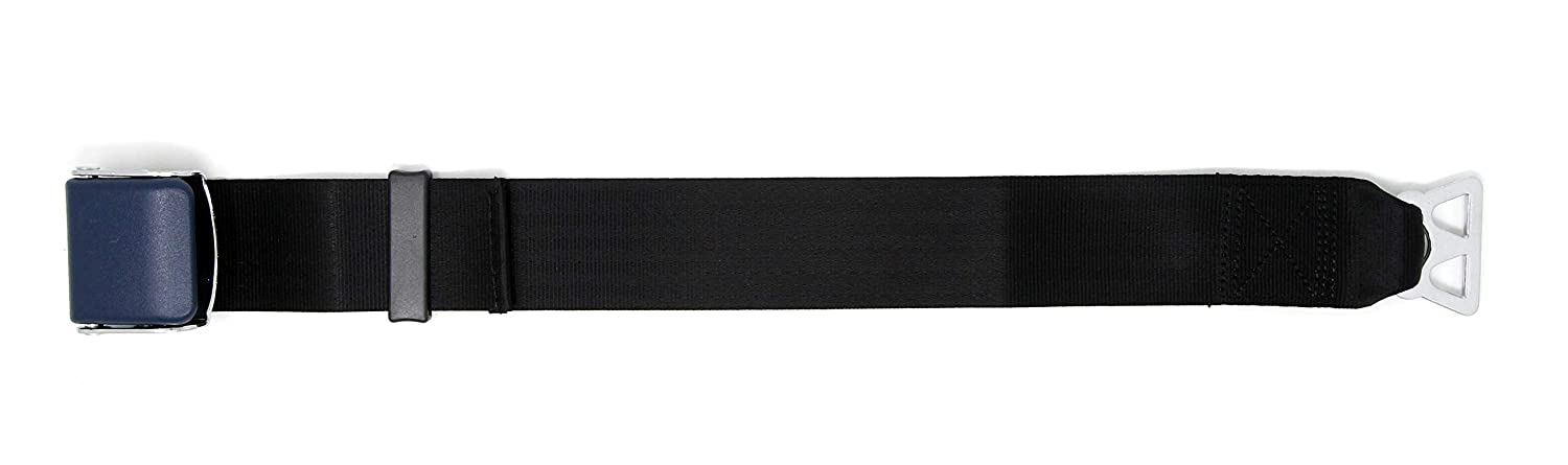 E4 Safety Certified,with Carrying Case 2 Garen Airplane Seat Belt Extender,for Southwest Airlines Blue//Type B