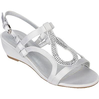 fb405177cde7 Sol Mia Women s Low Wedge Dress Sandals