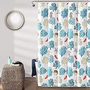61DK%2Bb5Tp6L._SS300_ Beach Shower Curtains & Nautical Shower Curtains
