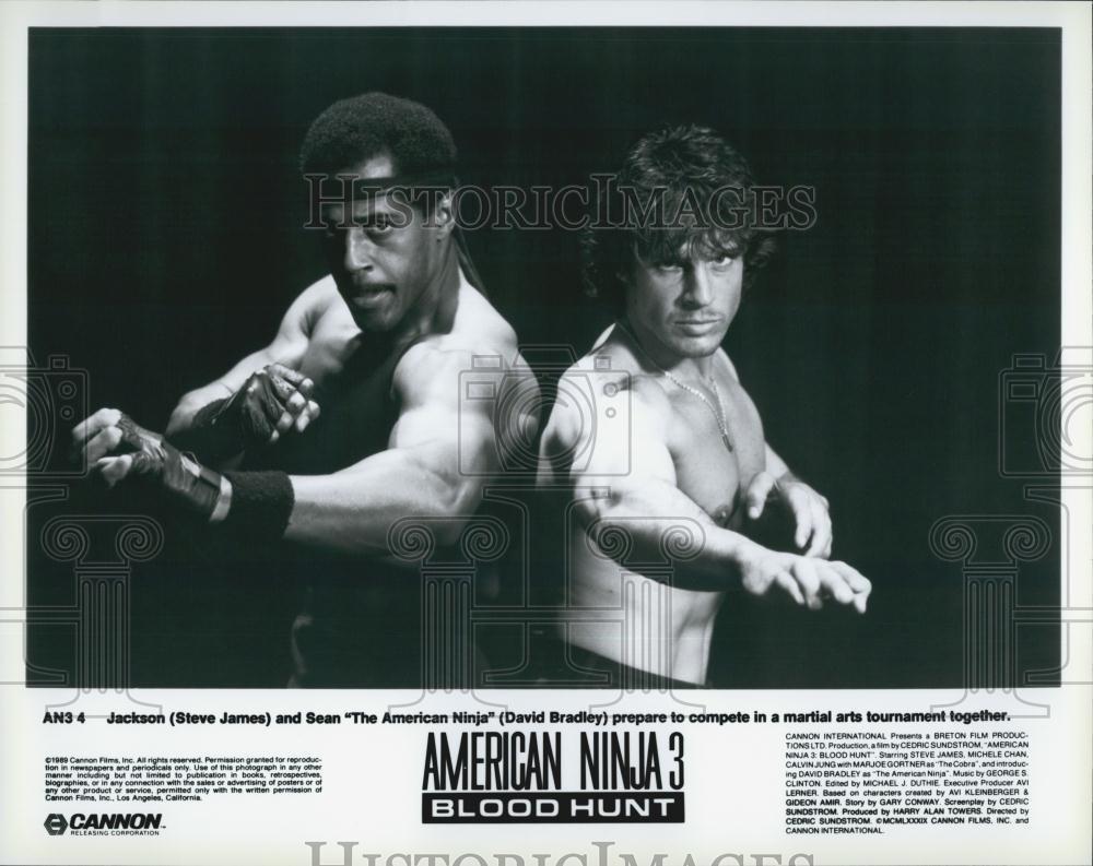 Foto de Prensa Vintage de 1989 para James y David Bradley en ...