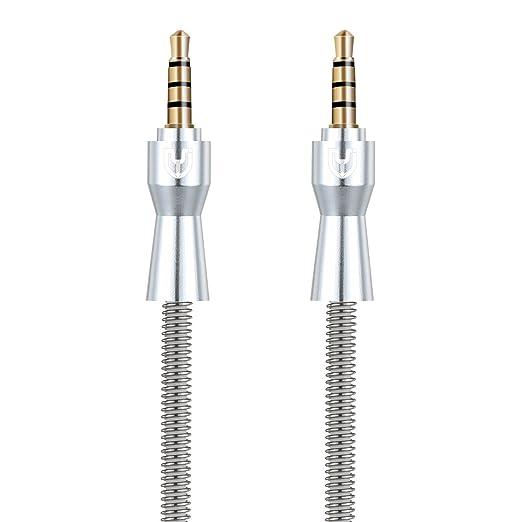 6 opinioni per Cavi Audio Avanzati di progettazione avanzata TYJTECH 3,5 mm con cavo auricolare