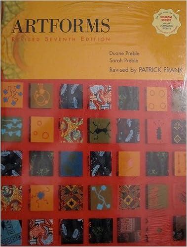 artforms revised artnotes package seventh edition