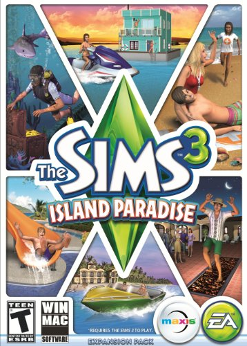 The Sims 3 Island Paradise - Standard Edition (Mac) [Online Game - 3 Edition Standard Sims