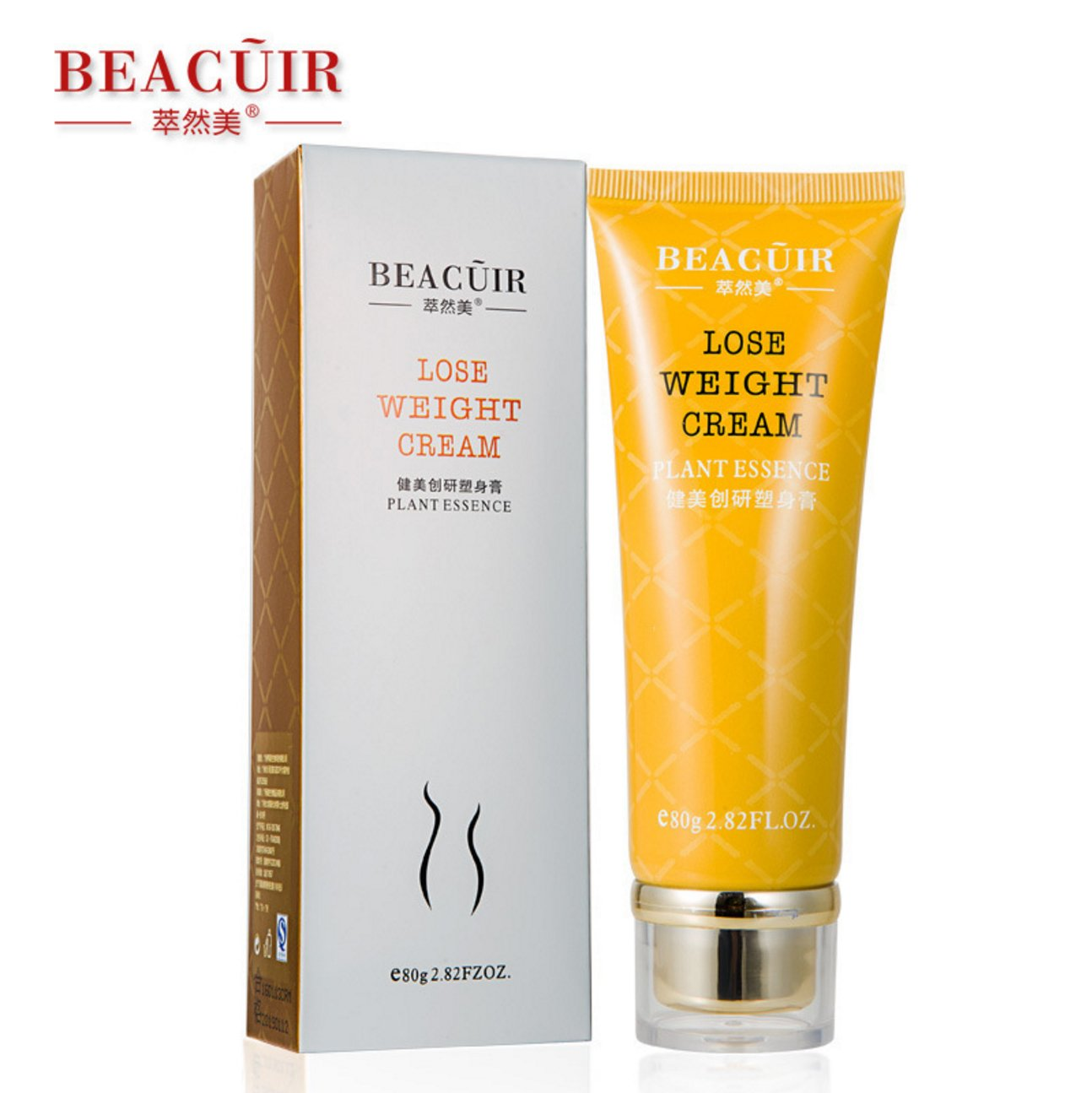 BEACUIR Fat Burning Body Slimming Slim Cream Gel Anti Cellulite Weight lose 80g