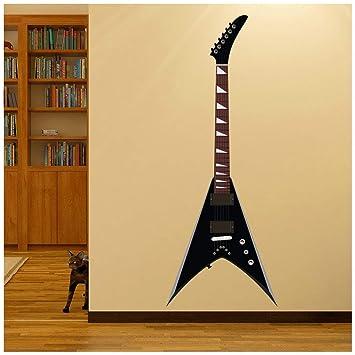 azutura Guitarra eléctrica Estilo V Volador Vinilos Disponible en 8 Tamaños X-Grande Digital