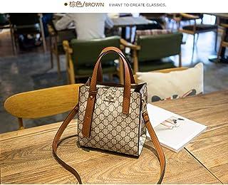 WOAIRAN Borsa A Tracolla Donna Vintage Moda Stampa di Semplici Handbag Ladies Leisure Grande capacità Tote Shopper Borsa Messenger