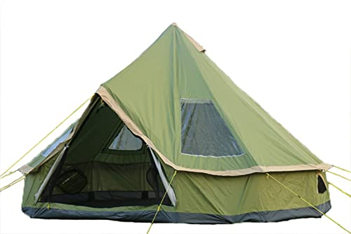 DANCHEL 4000 Pro 13ft Light Weight Tipi Family Tent