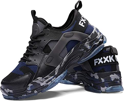 Zapatillas de Deporte para Hombre Ligero Deportes Ocasionales Zapatillas Deportivas para Caminar Zapatos Deportivos de Talla Grande: Amazon.es: Zapatos y complementos