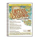 Strathmore 300 Series Visual Bristol Journal, 9''x12'' Vellum, Wire Bound, 24 Sheets