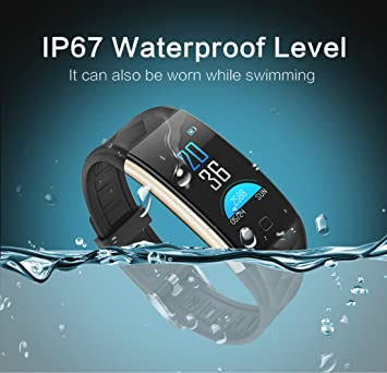 Smart Watch Waterproof Bracelet Colorful Screen with Heart Rate and Blood Pressure Monitoring Montre Intelligent Sleep