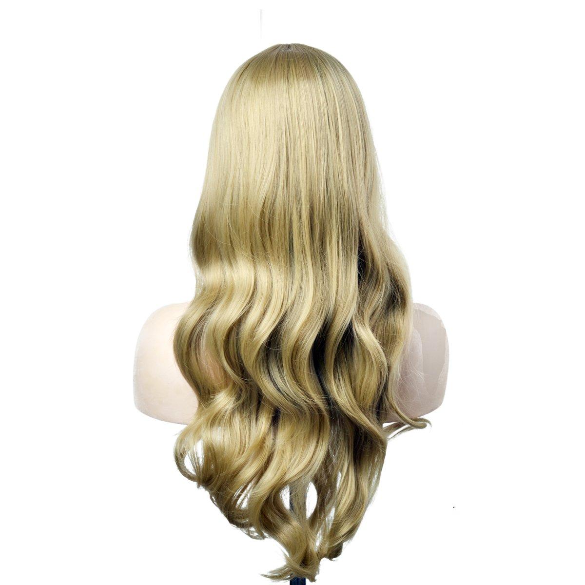 Amazon xy angel women long wavy wig full natura heat amazon xy angel women long wavy wig full natura heat resistant hair wigs blonde beauty pmusecretfo Images