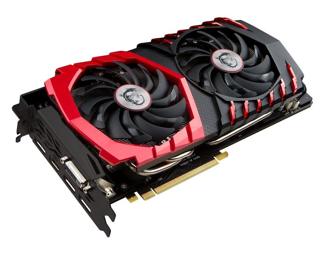 MSI Gaming GeForce GTX 1080 8GB GDDR5X SLI DirectX 12 VR Ready Graphics Card (GTX 1080 GAMING X 8G) by MSI (Image #3)