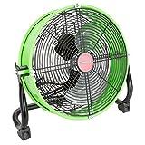 OEMTOOLS 24892 12'' Tilting Drum Workspace Fan-Green