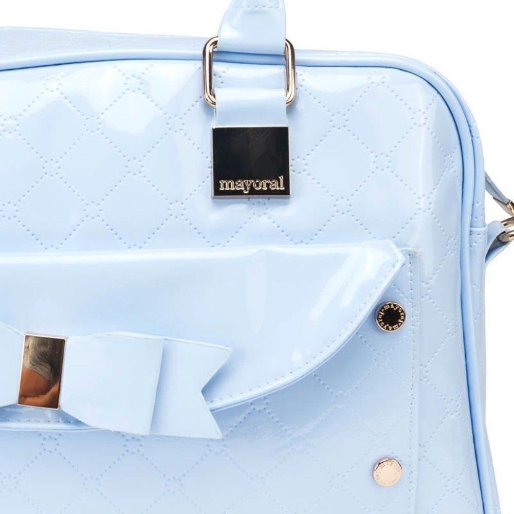 Bolso y Portachupete MAYORAL Charol Color Azul