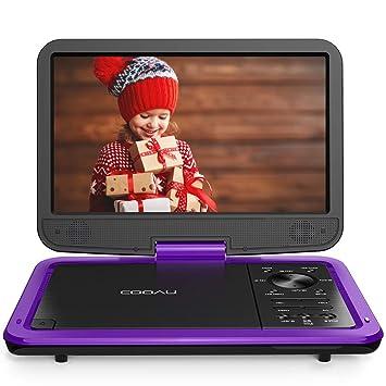 Amazon.com: COOAU - Reproductor de DVD portátil de 12,5