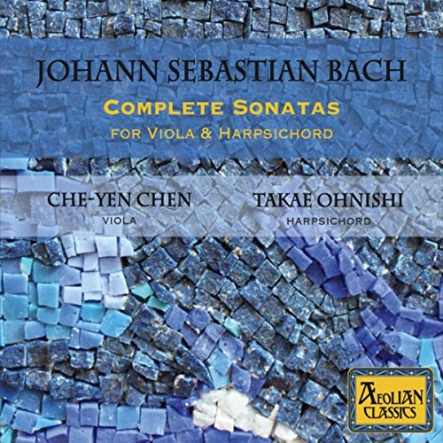 Sonatas Harpsichord Complete (Johann Sebastian Bach: Complete Sonatas for Viola & Harpsichord)