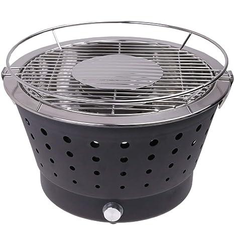 LS BBQ Grill - Parrilla de carbón sin Aceite para el hogar ...