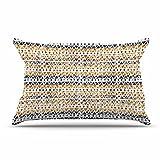 KESS InHouse Li Zamperini ''Africa'' Brown Tribal Pillow Sham, 40'' x 20''