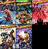 Flashpoint DC comics complete 5 issue series 1,2,3,4,5
