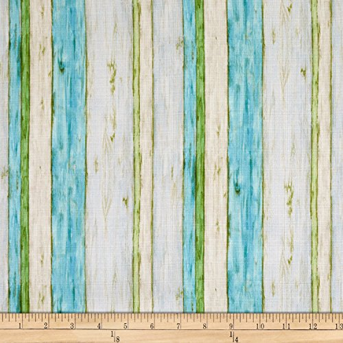 Springs Creative Products Susan Winget Coastal Living Driftwood Stripe Basketweave Multi Fabric by The Yard (Coastal Yard Fabric The By)
