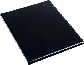 """10 Hüllen DIN A4 rillstab Sichtbuch /""""Original/"""" schwarz"""