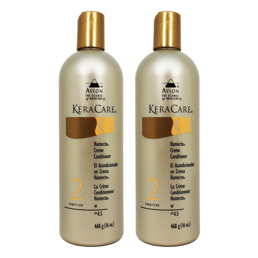 "Keracare Humecto Creme Conditioner 16oz ""Pack of 2"""