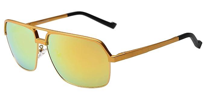 Eyekepper Gafas de Sol Polarizadas Cuadradas Aluminias con Bisagra Resorte para Hombre: Amazon.es: Ropa y accesorios
