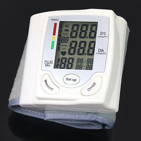 TOOGOO HQ-806 Esfigmomanometro de Pantalla Digital de cristal liquido Esfigmomanometro de medicion automatica digital: Amazon.es: Salud y cuidado personal