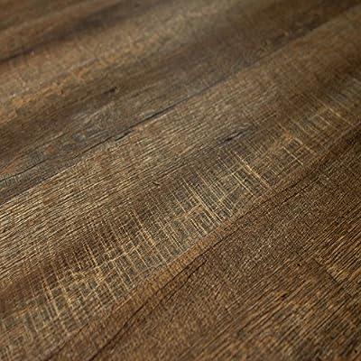 Berry/Alloc Dreamclick Pro Scarlet Oak Dark Brown 5mm Luxury Vinyl Plank Flooring 0065964 SAMPLE