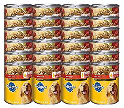 Pedigree Choice Cuts In Gravy With Beef Canned Dog Food 132 Ounces