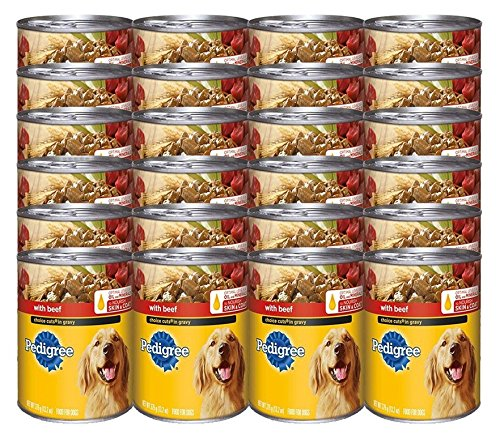 Pedigree Choice Cuts In Gravy With Beef Canned Dog Food 13.2 Ounces (Pack Of 24)