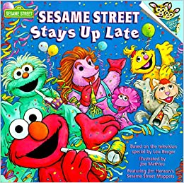 Sesame Street Stays Up Late: Joe Mathieu: 9780679867432