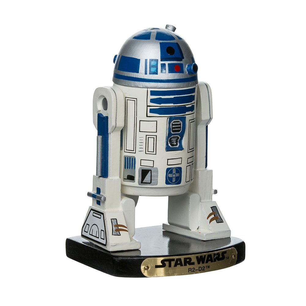 Kurt Adler SW0156 Star Wars Nutcracker, R2D2, 7-Inch