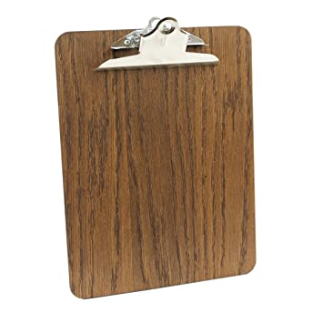 pack of 5 premium wooden clip board amazon co uk office products
