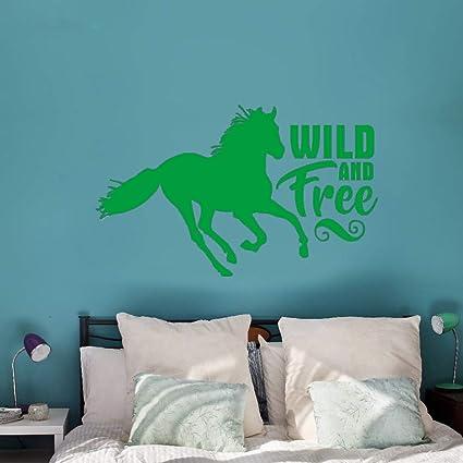 jiushizq Tatuajes de Pared Animal Horse Vinilo Pegatinas de Pared ...