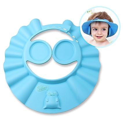 6b9dbee2 iRegro Champú Caja de seguridad Ducha Protección gorro de baño suave sombrero  para los niños,