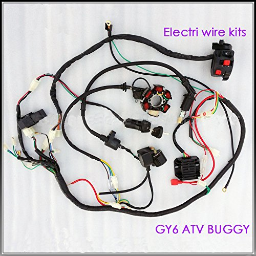 well-wreapped Ann Complete Electrics Wiring Harness Wire Loom ... on 4 stroke engine timing, 4 stroke diagram, 4 stroke exhaust, 4 stroke spark plug color, 4 stroke tuning, 4 stroke engine firing order, 4 stroke motor, 4 stroke fuel injection,