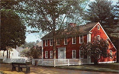 Solomon Richardson House Old Sturbridge Village Built 1748 East Brookfield Massachusetts Postcard At Amazon S Entertainment Collectibles Store