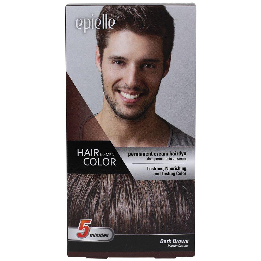 Amazon Com Kareway Epielle Hair Color For Men Dark Brown Pack Of